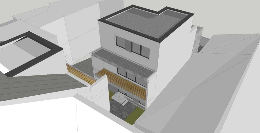 Visualisierung des Bauvorhabens Eigentumswohnungen in Euskirchen von Articum