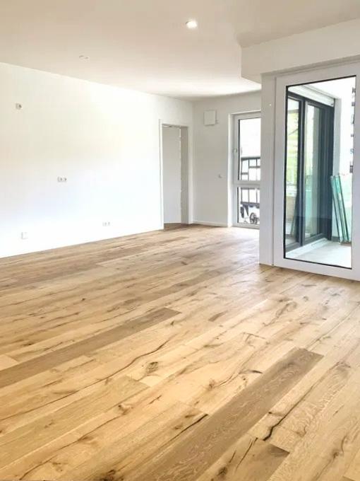 Wohn-Essbereich der 2-Zimmer-Eigentumswohnung in Koblenz Lay