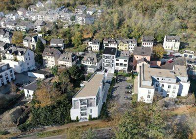 Visualisierung Mehrfamilienhaus mit Eigentumswohungen in Vallendar,